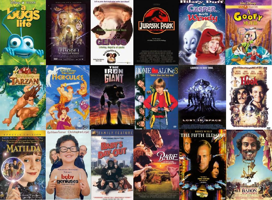 Movies Tv Vhs Kids Family Of Movies